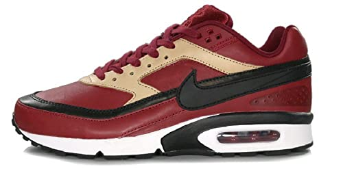 Nike Air Max BW Premium team red black vachetta tan white