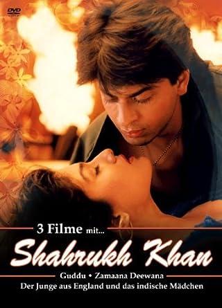 Shahrukh Khan 3er Dvd Box Nr 2 Guddu Zamaana Deewana Der Junge