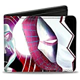 Men'sMarvel Universe Wallet Spider-gwen #3 Crouching & #5 Face-, -Multi, One Size