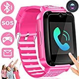 Kids Phone Smart Watch with Free SIM Card Kids Smartwatch for 3-14 Year Boys Girls Kid Anti-Lost...