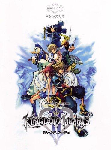 Kingdom Hearts II Piano Solo Sheet Music by Square Enix (2008-08-02) (Hearts Music Piano Kingdom)