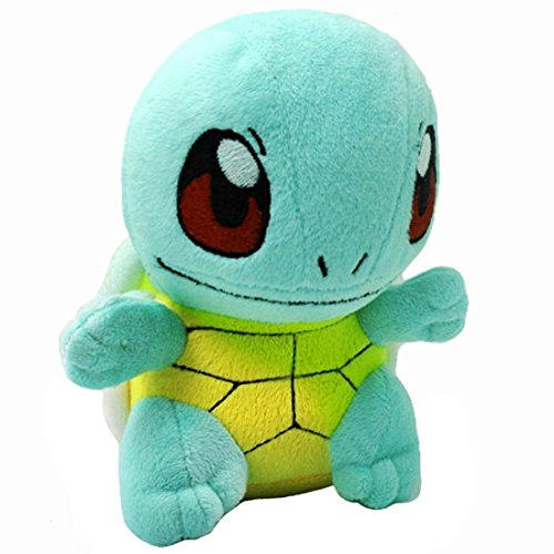 Pokemon Stuffed Squirtle Figure Toy | Plush Animal Toys Gift Set for Babies and Newborns