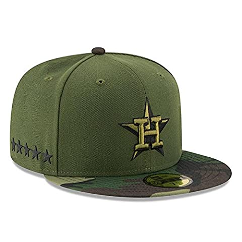Houston Astros New Era 2017 Memorial Day 59FIFTY On Field Fitted Hat (7 1/8)