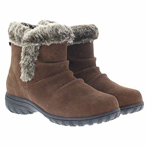 Khombu Womens Lisa All Terrain Short Boots (Brown, ()