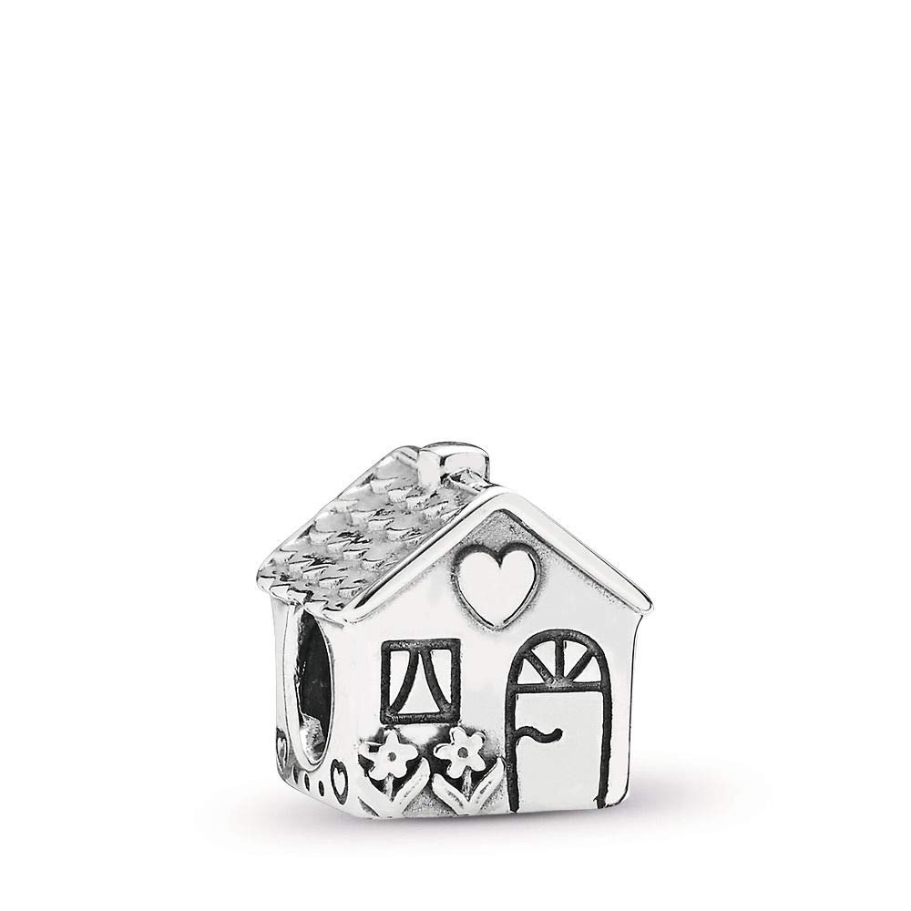 PANDORA Home, Sweet Home Charm, Sterling Silver, One Size by PANDORA