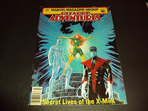 Bizarre Adventures #27 July 1981 Bronze Age Marvel Comics Magazine