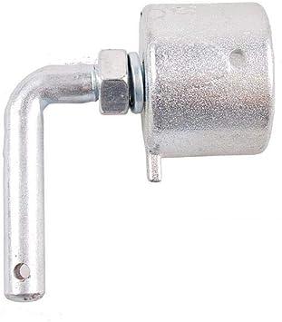 PVC Bruststangenschlauch f/ür Pferdeanh/änger f/ür 42mm Bruststange grau L/änge ab 1,0m