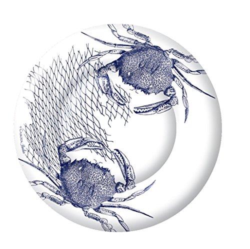 boston-international-8-count-caskata-studio-round-paper-dessert-plates-blue-crab