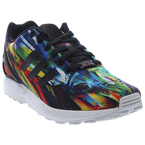 new styles dc2dc e0114 AF6323-] ADIDAS ZX FLUX MENS SNEAKERS ADIDASBLACK WHITE ...