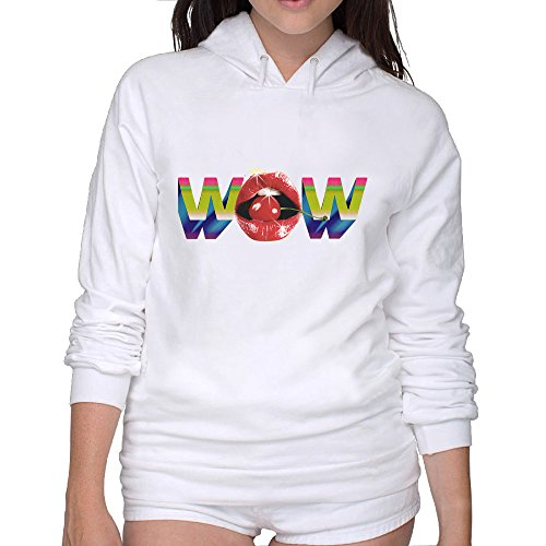 Women's Wow Logo Hoodies Clothing Best Hoodie Comfortable