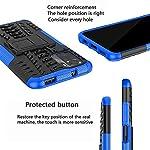 Zivite Xiaomi Redmi Note 10s, Back Cover, Premium Real Hybrid Shockproof Bumper Defender Cover, Kickstand Hybrid Desk…