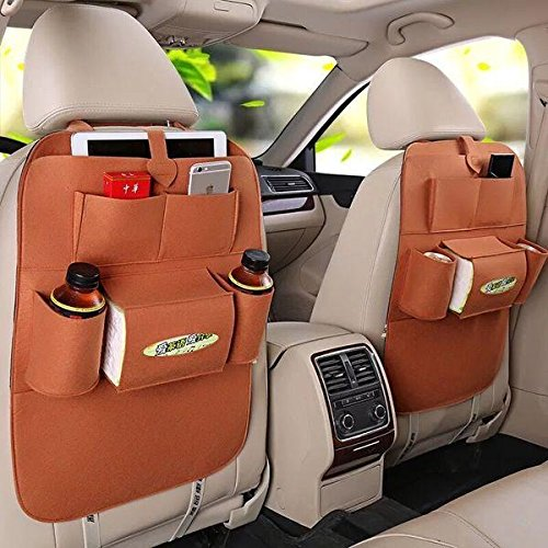 Back Suspension Seat - Sedeta car Seat Back Multi-Pocket Storage Bag/jacket Organizer Beverages Maps Tissue Box car bag phone bags suspension cover for outdoor storage Multi function backpack back seat storage bag back seat