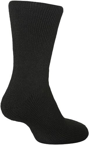 1 Pair Mens GENUINE Thermal BIGFOOT Heat Holders Socks size 12-14 uk Red