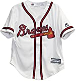 Atlanta Braves Home Cool Base Infant and Toddler Baseball Jersey