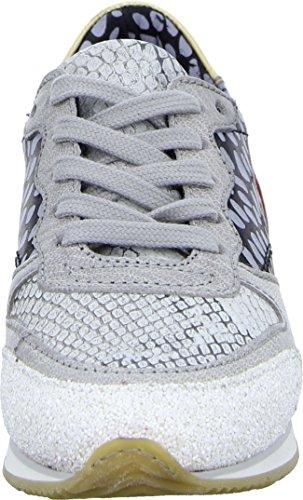 MJUS Schnürhalbschuh 602140 Telly Damen Sneaker Leder Mehrfarbig