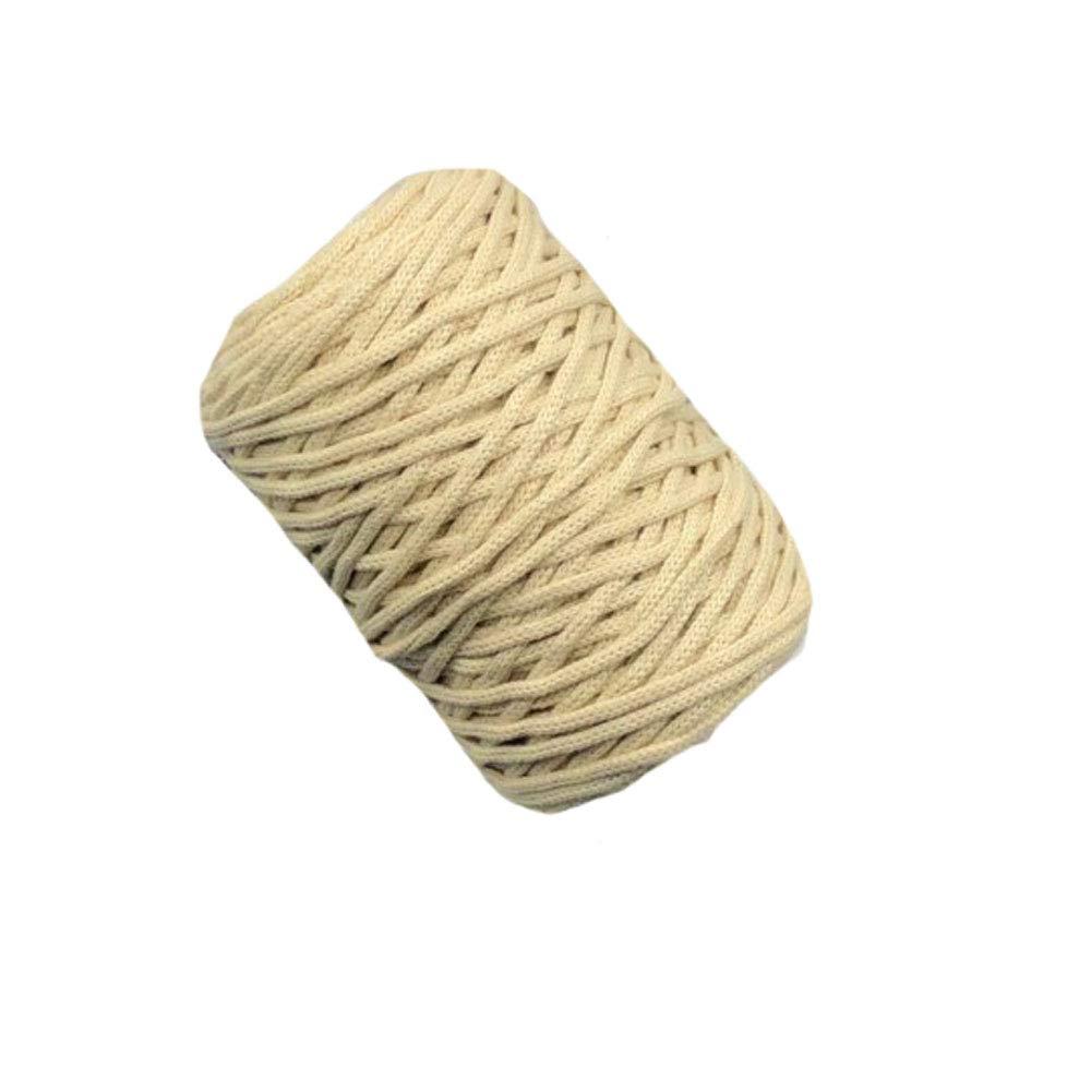 Beige Crochet Handbag Yarn Knitting Purse Basket Yarn DIY Cotton Yarn Macrame Yarn 400g One Skein