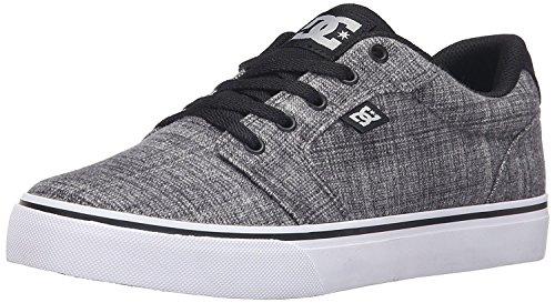 DC Mens Anvil TX SE Sneaker, Gris Brezo, 38 D(M) EU/5 D(M) UK