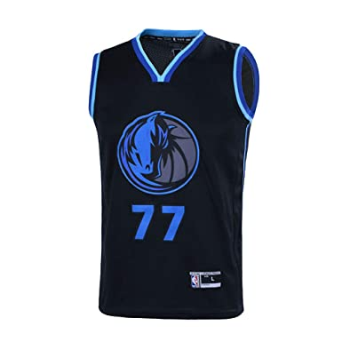 hot sale online 5ab7d fccc1 Outerstuff Youth 8-20 Luka Doncic Dallas Mavericks #77 Player Jersey for  Kids