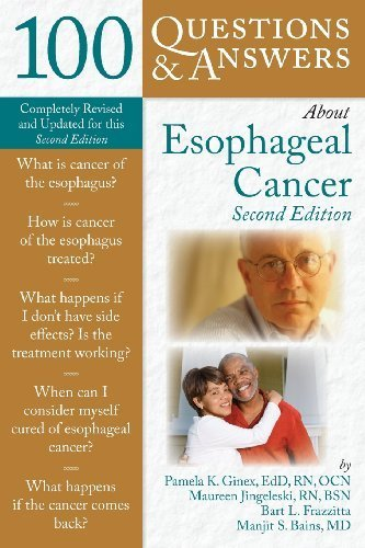 100 Questions & Answers About Esophageal Cancer by Pamela K. Ginex (2009-03-06)