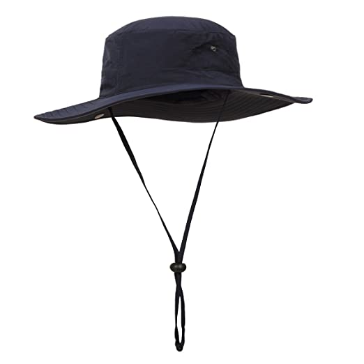 ee91e9ce1 Surblue Wide Brim Cowboy Hat Collapsible Hats Fishing/Golf Hat Sun Block  UPF50+