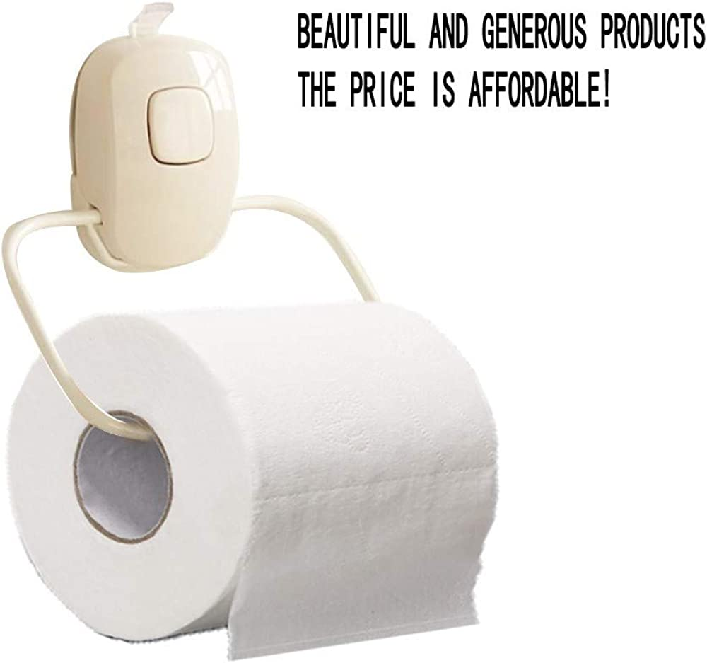 Yamasaki Toilet Paper Rolls,Hollow Replacement White Roll Paper Print Interesting Toilet Paper Table Kitchen Paper