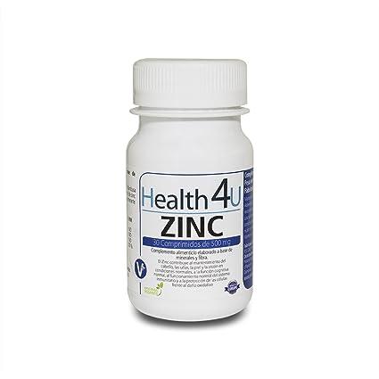 H4U Zinc 30 comprimidos de 500 mg: Amazon.es: Belleza