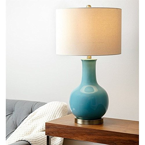 Abbyson Living Maybury Ceramic Table Lamp, French Blue by Abbyson Living