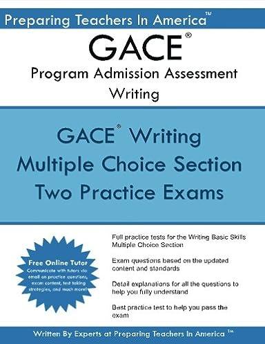 gace writing program admission assessment gace basic skills exam rh amazon com Developing Study Skills gace basic skills study guide pdf