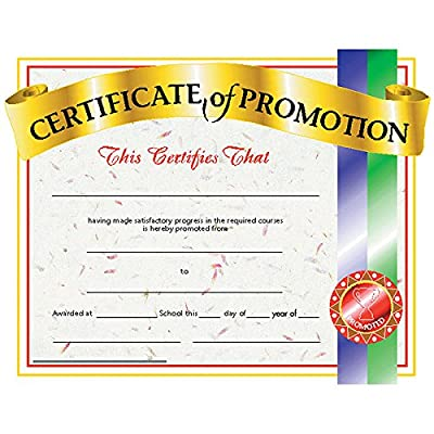 Promotion Certificate (Set of 30): Toys & Games