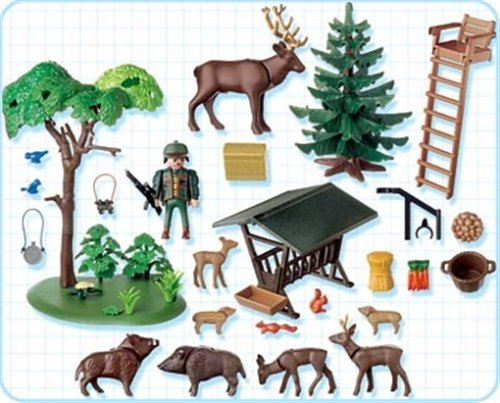 Playmobil 4208 ranger 39 s post at shop ireland for Playmobil post