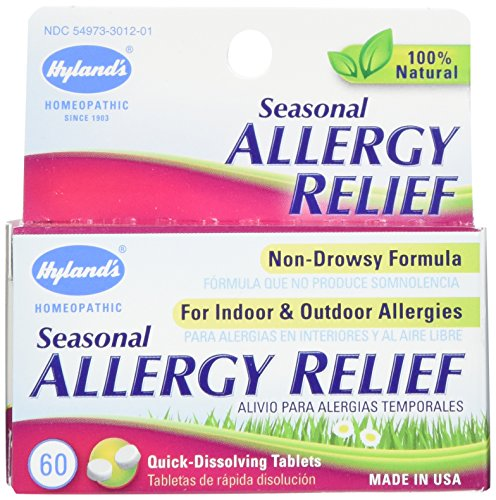 Hylands Seasonal Allergy Relief Tablets product image
