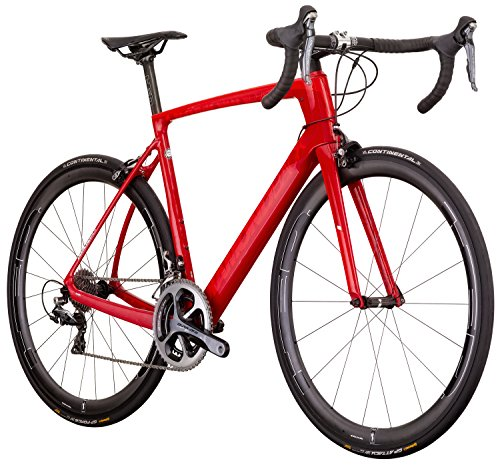 Diamondback Bicycles Podium Equipe Carbon Road Bike, 60cm Frame, Red Diamondback Bikes