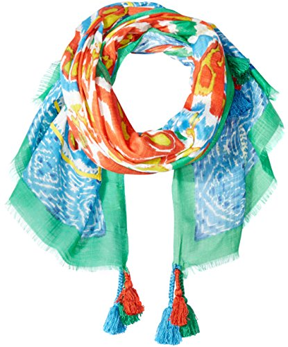 Michael Stars Women's Daydream In Ikat Wrap, Tomato, One Size (Star Tomato)
