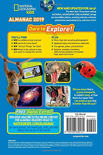 National Geographic Kids Almanac 2019 (National Geographic Almanacs) by National Geographic (Image #1)