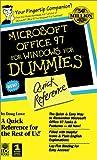 Microsoft Office 97 for Windows for Dummies, Doug Lowe, 0764500627