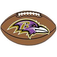 Fanmats Baltimore Ravens Team Football Mat