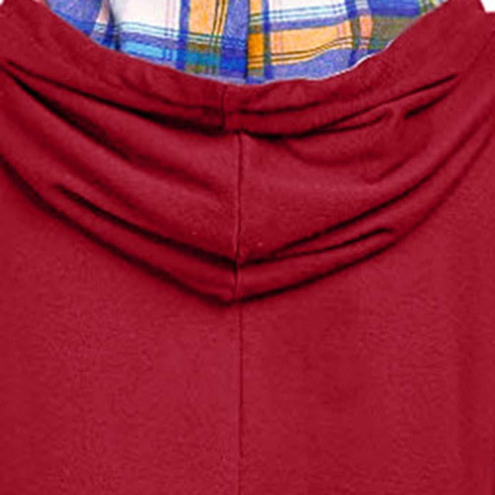Luckycat Sudaderas con Capucha Camisetas Manga Larga Mujer Kimono Otoño Mujer Camisetas Vestidos Camisas Ropa Chaquetas Tops Sudaderas Mujer Capucha Blusa: ...