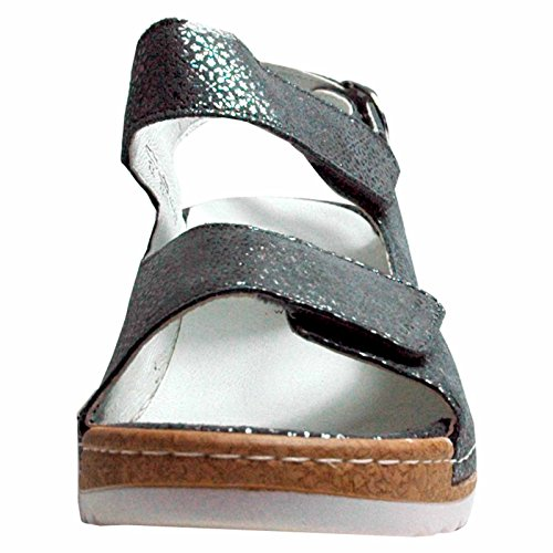 Wide TAGO Sandals Ranger Cement Waldläufer Ladies Hanila H TpOwq