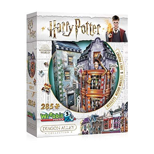 WREBBIT 3D - Harry Potter Weasleys' Wizard Wheezes & Daily Prophet 3D Jigsaw Puzzle (280 Piece)