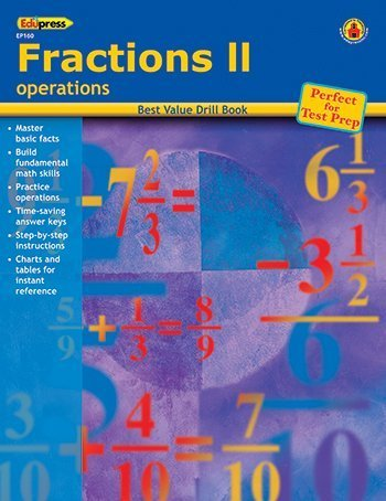 15 Pack EDUPRESS FRACTIONS 2 OPERATIONS
