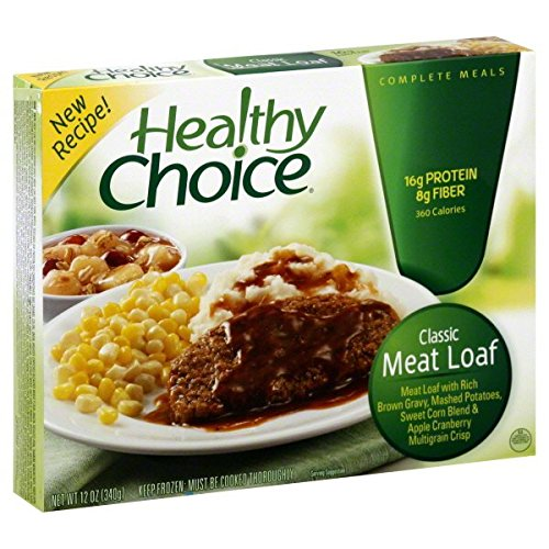 HEALTHY CHOICE CLASSIC MEAT LOAF ENTREE 12 OZ PACK OF 3 by HEALTHY CHOICE At The Neighborhood Corner Store