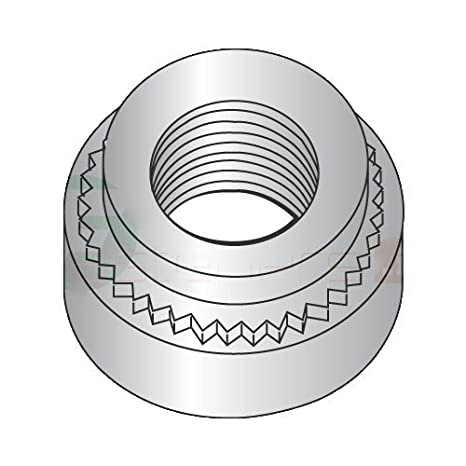 .030 10-32-0 Self Clinching Nuts .030 Sheet Thickness 303 Stainless Steel Shank Height QUANTITY: 5,000 pcs