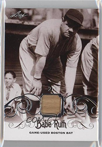 Babe Ruth #2/3 (Baseball Card) 2016 Leaf Babe Ruth Collec...