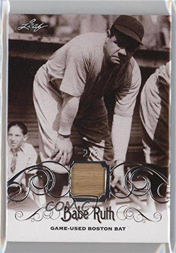 Babe Ruth #2/3 (Baseball Card) 2016 Leaf Babe Ruth Collec...
