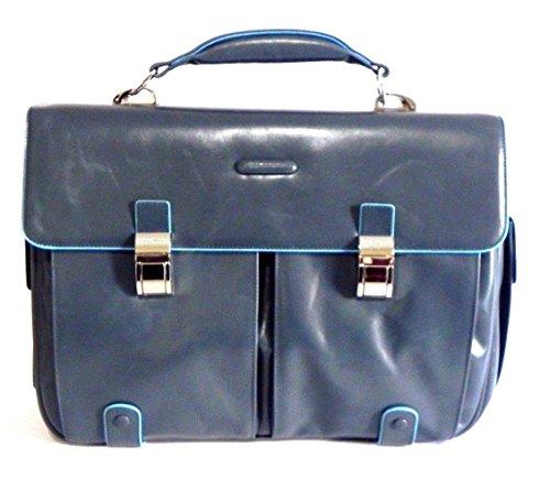 Piquadro Blue Square 15'' Serviette compartiment pour ordinateur portable bleu clair