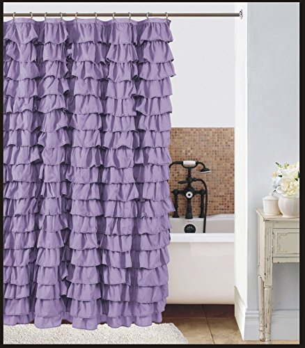 Compare Price To Shower Curtain Lilac