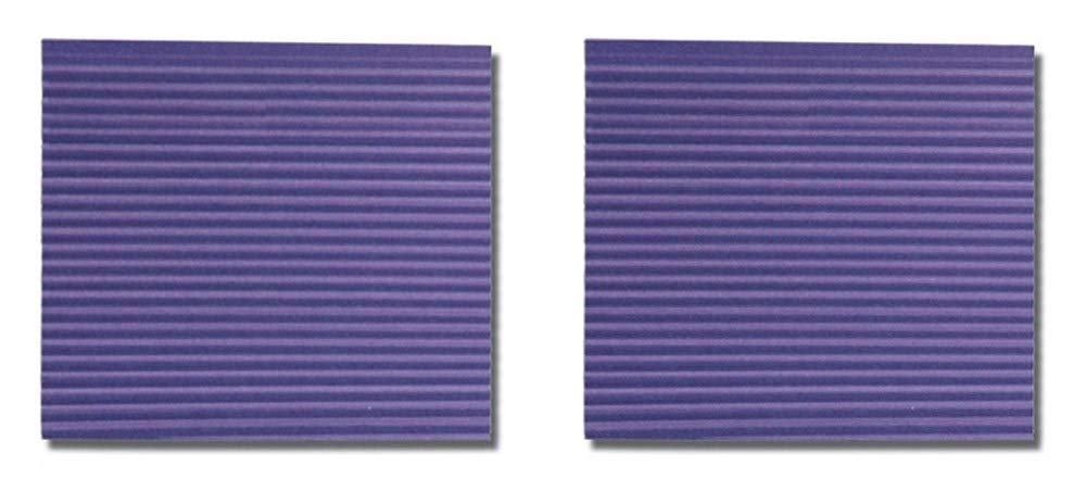 UCHIDA Corru-Gator Paper Crimper, 8-1/2-Inch, Straight (Тwo Рack)