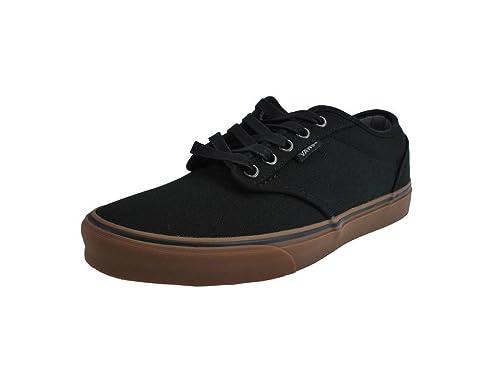 Vans Atwood Black Gum Skate Shoes Men s 8  Women s 9.5 Sneakers Unisex   Amazon.ca  Shoes   Handbags 88211fdab5