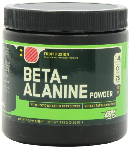 Optimum Nutrition Alanine Powder Servings