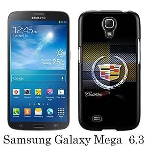 Cadillac logo 2 Black Samsung Galaxy Mega 6.3 i9200 i9205 Screen Phone Case Unique and Fashion Design